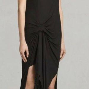 All Saints Riviera Tavi Dress In Gray Size 0*